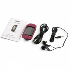 A505 1.8 Zoll LCD 8GB MP3 Player Stereo Musik Player - Rot