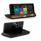 """7"""" IPS 3G Wi-Fi Car DVR Android 5.0 GPS Navigation Video Recorder"""