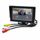 TFT LCD 2 Video Input 4.3 Inches Car Parking Monitor