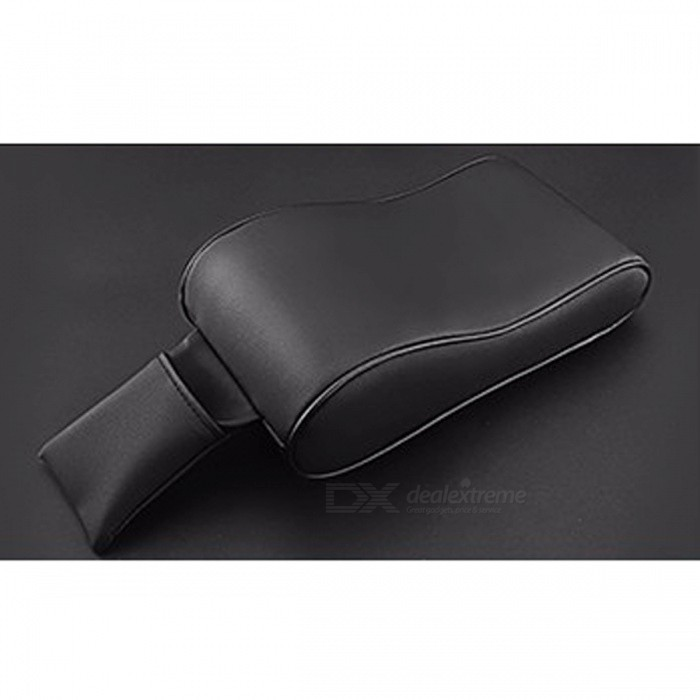 PU Leather Universal Car Armrest Box Mats Pad - BlackOther Interior<br>Form  ColorBlackModelN/AQuantity1 DX.PCM.Model.AttributeModel.UnitMaterialPUPacking List1 x Car Universal Armrest Box Mats<br>