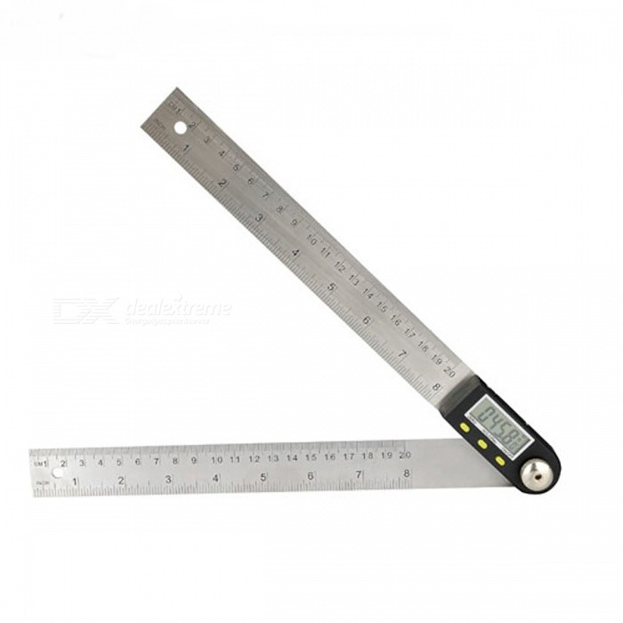 200mm Stainless Steel Digital Electronic Angle Gauge Ruler
