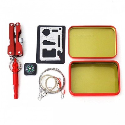 Outdoor Hiking Camping EDC Tools Emergency Tool Set