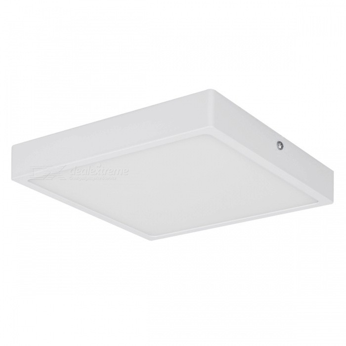 16W 1600lm 6000K LED Cold White Square Panel Light (AC 85~265V)Ceiling Light<br>Form  ColorWhiteColor BINCold White?32W)Quantity1 DX.PCM.Model.AttributeModel.UnitMaterialAluminumPowerOthers,16WRated VoltageAC 85-265 DX.PCM.Model.AttributeModel.UnitChip BrandEpistarEmitter TypeLEDTotal Emitters1Actual Lumens1600 DX.PCM.Model.AttributeModel.UnitColor Temperature6000KDimmableNoBeam Angle360 DX.PCM.Model.AttributeModel.UnitExternal Diameter145 DX.PCM.Model.AttributeModel.UnitHole diameter145 DX.PCM.Model.AttributeModel.UnitHeight26.5 DX.PCM.Model.AttributeModel.UnitPacking List1 x Led Panel Light1 x Base4 x Screws2 x Plastic expansion pipes<br>