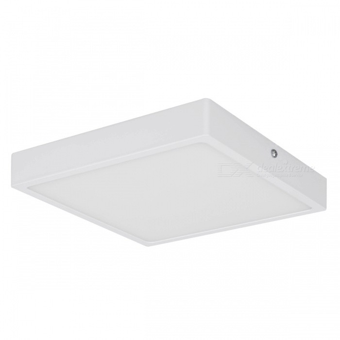 32W 2200lm 6000K LED Cold White Square Panel Light (AC 85~265V)Ceiling Light<br>Form  ColorWhiteColor BINCold White?32W)Quantity1 DX.PCM.Model.AttributeModel.UnitMaterialAluminumPowerOthers,32WRated VoltageAC 85-265 DX.PCM.Model.AttributeModel.UnitChip BrandEpistarEmitter TypeLEDTotal Emitters1Actual Lumens2200 DX.PCM.Model.AttributeModel.UnitColor Temperature6000KDimmableNoBeam Angle360 DX.PCM.Model.AttributeModel.UnitExternal Diameter220 DX.PCM.Model.AttributeModel.UnitHole diameter220 DX.PCM.Model.AttributeModel.UnitHeight26.5 DX.PCM.Model.AttributeModel.UnitPacking List1 x Led Panel Light1 x Base4 x Screws2 x Plastic expansion pipes<br>