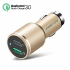 Ugreen 30W Quick Charge 3.0 Dual USB Car Charger - Glod