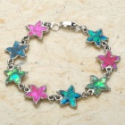Fashion Zinc Alloy Bracelet (18CM-Length)