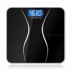 LCD Display Household Digital Body Scales, Weight Balance - Black