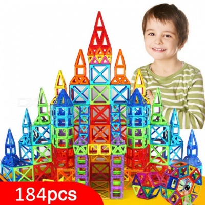 184-Piece Mini Magnetic Designer Construction Set Model