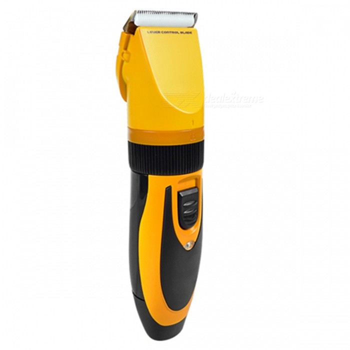 ZP295 Portable Professional Dog Hair Trimmer - YellowCleaning &amp; Grooming<br>Form  ColorYellow + Gun BlackModelZP-295MaterialABSQuantity1 DX.PCM.Model.AttributeModel.UnitSuitable ForCat,DogPacking List1 x Trimmer2 x Shaving Combs1 x Oil1 x Brush1 x Charger<br>