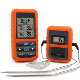 TP-20 LCD Display Remote Wireless Digital Meat BBQ Thermometer