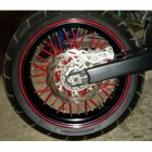 Universal Motorcycle Wheel Rim Spoke Shrouds Skins Covers for Yamaha