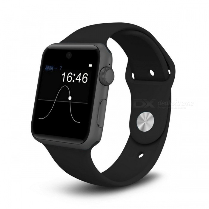 DM09 HD Screen Bluetooth Smart Watch Support SIM Card - BlackSmart Watches<br>Form  ColorBlackModelDM09Quantity1 DX.PCM.Model.AttributeModel.UnitMaterialPlasticShade Of ColorBlackCPU ProcessorMTK2502Screen Size1.54 DX.PCM.Model.AttributeModel.UnitScreen Resolution240*204Network Type2GCellularGSMBluetooth VersionBluetooth V4.0Compatible OSAndroid 4.3 and above, IOS 7 and aboveLanguageFrench,Italian,Russian,Spanish,Portuguese,Turkish, EnglishWristband Length26.2 DX.PCM.Model.AttributeModel.UnitWater-proofOthers,Life WaterproofBattery ModeReplacementBattery TypeLi-ion batteryBattery Capacity320 DX.PCM.Model.AttributeModel.UnitStandby Time1 DX.PCM.Model.AttributeModel.UnitPacking List1 x Smart Watch1 x Charging Cable1 x Manual<br>