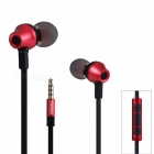 REMAX RM 610D HiFi Stereo Headphone with Microphone for Phone - Red