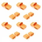 XT30 XT60 XT90 Yellow Battery Connector Set Banana Plug - 10 Pairs