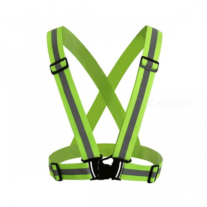 360 Degrees High Visibility Neon Safety Vest Reflective BeltOthers<br>Form  ColorGreenSizeOthersQuantity1 DX.PCM.Model.AttributeModel.UnitMaterialPolyester Oxford fabric / knitted fabricShade Of ColorGreenPacking List1 x Neon Safety Vest Reflective Belt Safety Vest<br>