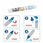50x34cm Drawing Toy Board with Magic Pen for Kids - Blue