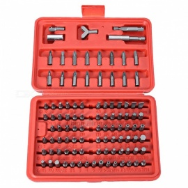 Car Repair Screwdriver Security Bit Set Hand Tool Kit -100PCS
