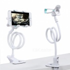 Remax 360 Rotation Flexible Long Arm Mobile Phone Stand - White