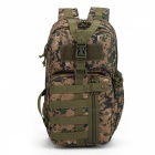Tactical 3P Assault Backpack for Hiking Traveling - Army Green Camo