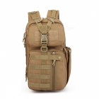 Stylish Tactical 3P Assault Backpack for Hiking Traveling - Khaki