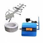 LCD Display GSM 2G Mobile Phone Signal Booster w/ Antenna, Cable
