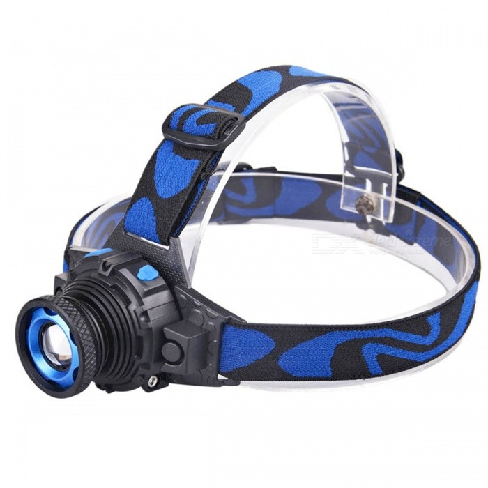 XP-G Q5 450LM 3-Mode White Light LED Headlamp - BlackHeadlamps<br>Form  ColorBlack + BlueQuantity1 DX.PCM.Model.AttributeModel.UnitMaterialMetal + ABSEmitter BrandCreeLED TypeXP-GEmitter BINQ5Color BINWhiteNumber of Emitters1Working Voltage   110-240 DX.PCM.Model.AttributeModel.UnitPower SupplyBuilt-In BatteryCurrent500 DX.PCM.Model.AttributeModel.UnitActual Lumens450 DX.PCM.Model.AttributeModel.UnitRuntime- DX.PCM.Model.AttributeModel.UnitNumber of Modes3Mode ArrangementHi,Low,Slow StrobeMode MemoryNoSwitch TypeReverse clickySwitch LocationHeadLensPlasticReflectorAluminum SmoothBand Length20 DX.PCM.Model.AttributeModel.UnitCompatible CircumferenceAdjustableBeam Range50 DX.PCM.Model.AttributeModel.UnitPacking List1 x LED Head lamp (with build-in battery)1 x Home AC charger1 x USB charging cable<br>