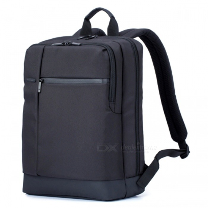 Original Xiaomi Classic Business Backpack Large Capacity - BlackOther Consoles Accessories<br>Form  ColorBlackQuantity1 DX.PCM.Model.AttributeModel.UnitMaterialMicrofiberShade Of ColorBlackPacking List1 x Bag<br>