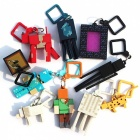 10Pcs/Lot First Generation 3D Anime Minecraft Toy