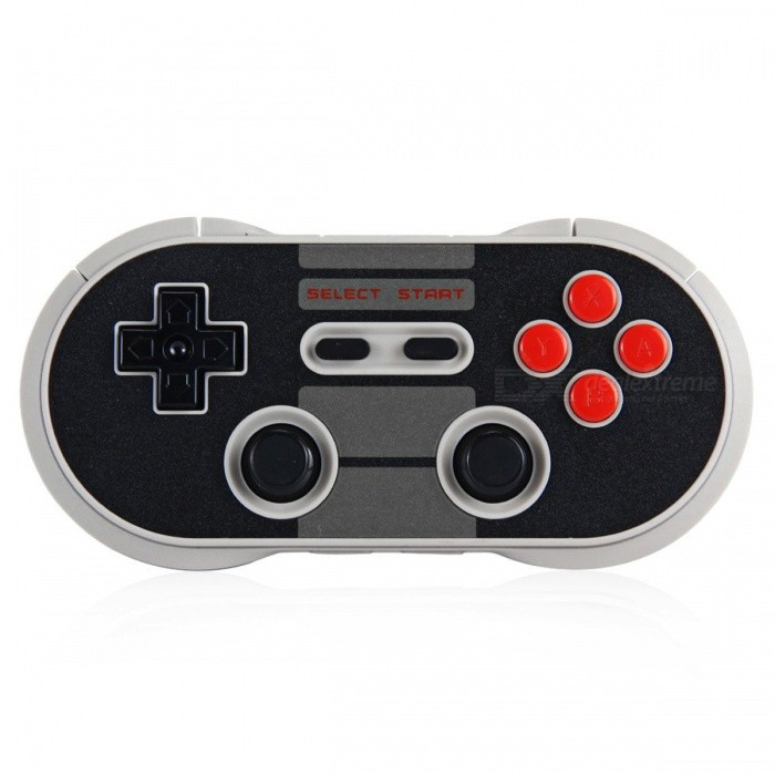 NES30 Pro Wireless Bluetooth Controller Dual Classic Joystick - BlackOther Consoles Accessories<br>Form  ColorBlackQuantity1 DX.PCM.Model.AttributeModel.UnitMaterialPlasticShade Of ColorBlackPacking List1 x NES30 Wireless Bluetooth Pro Game Controller1 x USB Cable1 x Key Chain1 x User Manual in English and Chinese<br>