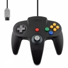 Wired Controller for Nintend N64 Joystick Games Wired Gamepad - Black