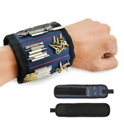 Portable Polyester Magnetic Wristband Electrician Wrist Tool