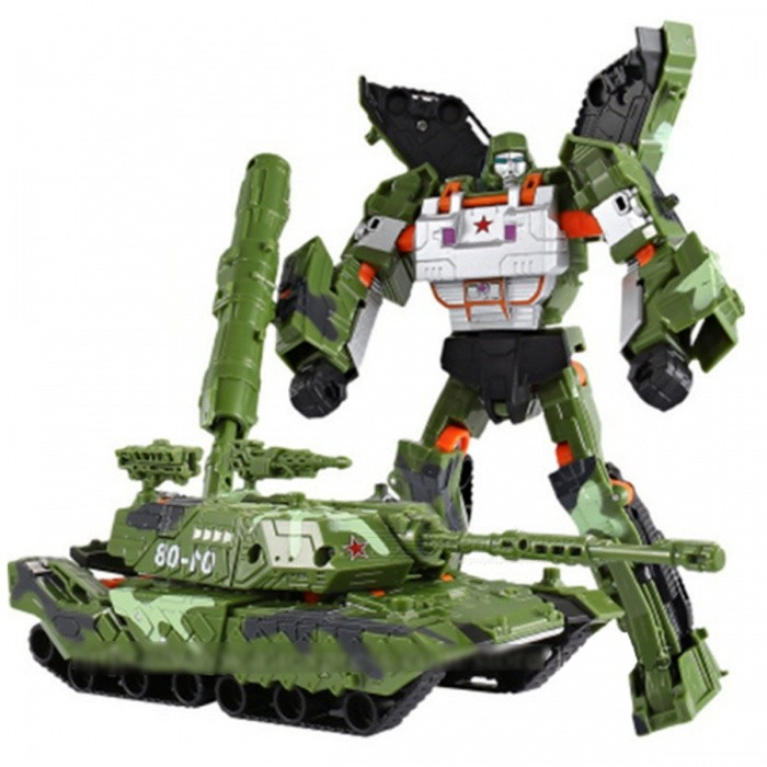 Army Toys For Boys : Transformation robot car model toy for boy kids army