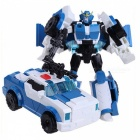 Transformation 4 Robot Car Model Toy for Boy Kids - Blue