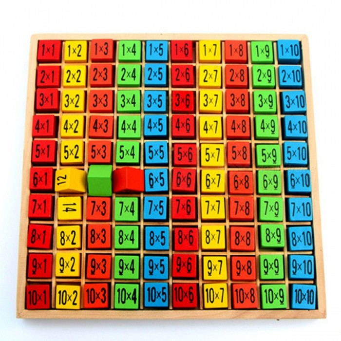 99 multiplication table math wooden toy for baby free for 99 times table