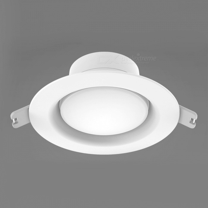 Original Xiaomi Mijia Yeelight Round LED Ceiling Embedded LightForm  ColorWhiteColor BINCold WhiteModelYLSD03YLQuantity1 DX.PCM.Model.AttributeModel.UnitMaterialABSPower5WRated VoltageOthers,AC 110~260 DX.PCM.Model.AttributeModel.UnitEmitter TypeLEDTotal Emitters0Actual Lumens400 DX.PCM.Model.AttributeModel.UnitColor Temperature5000KDimmableNoBeam Angle110 DX.PCM.Model.AttributeModel.UnitOther FeaturesHole diameter: 9.5~10cmPacking List1 x LED Ceiling Light<br>