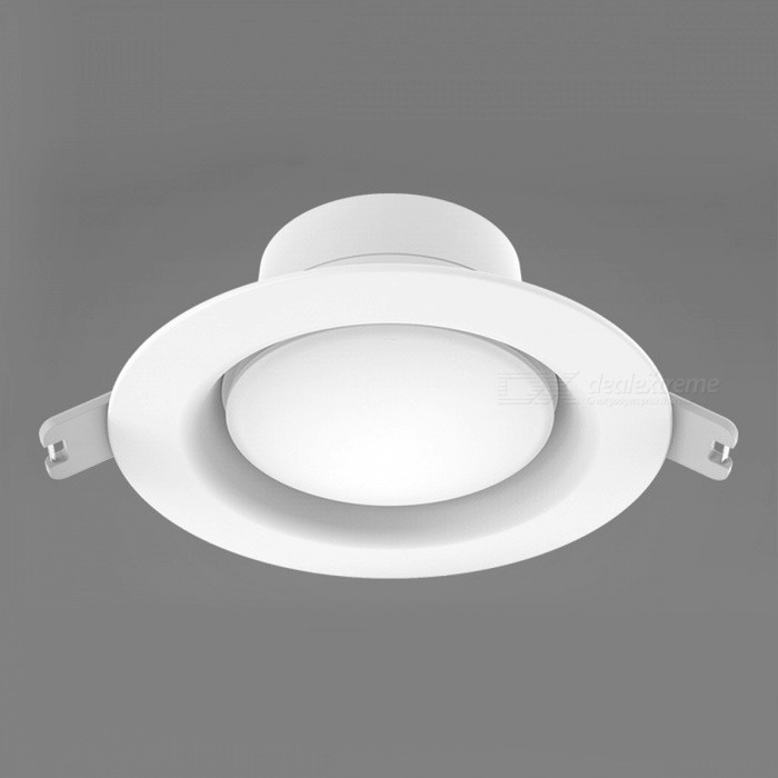 Original Xiaomi Mijia Yeelight Round LED Ceiling Recessed LightForm  ColorWhiteColor BINWarm WhiteModelYLSD02YLQuantity1 DX.PCM.Model.AttributeModel.UnitMaterialABSPower5WRated VoltageOthers,AC110-260 DX.PCM.Model.AttributeModel.UnitEmitter TypeLEDTotal Emitters0Actual Lumens400 DX.PCM.Model.AttributeModel.UnitColor Temperature3000KDimmableNoBeam Angle110 DX.PCM.Model.AttributeModel.UnitOther FeaturesHole diameter:9.5-10cmPacking List1 x LED Ceiling Light<br>