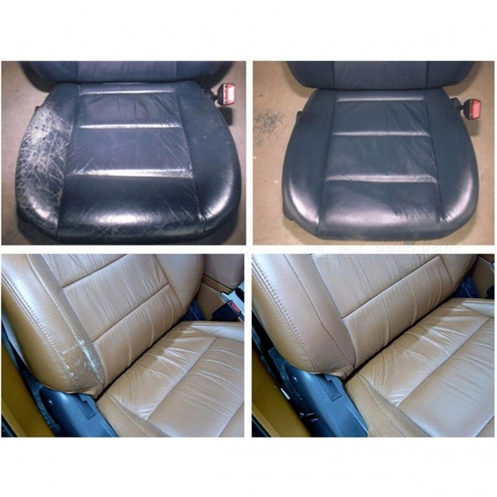 how to clean leather car seats with holes