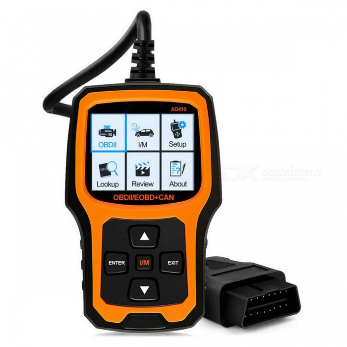 OBD2 Scanner Car Code Reader OBDII Vehicle OBD Diagnostic Tool -Yellow