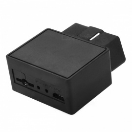 Plug and Play OBDII OBD2 OBD 16-PIN Auto Car GPS Tracker Locator with Web Vehicle Fleet Management System IOS & Android APP
