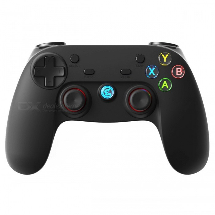 G3s 2.4Ghz Wireless Bluetooth Gamepad Controller for Android - BlackOther Consoles Accessories<br>Form  ColorBlackModelG3sQuantity1 DX.PCM.Model.AttributeModel.UnitMaterialPlasticShade Of ColorBlackPacking List1 x Gamepad<br>