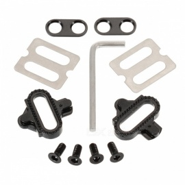 Cycling MTB Bicycle Pedals Cleat with Screws Hardware Nuts