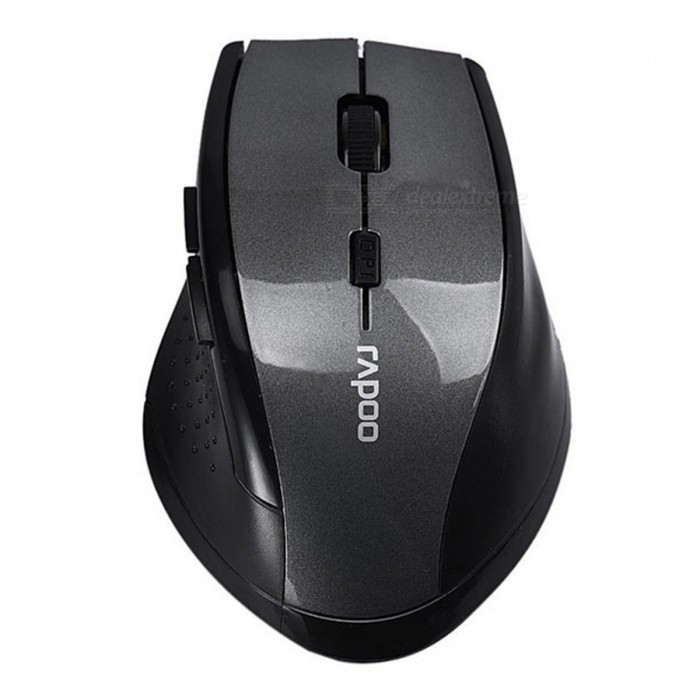 Malloom Adjustable 3200DPI USB Receiver Optical Wireless Gaming Mouse for PC Laptop - GreyWireless Mouse<br>Form  ColorGreyModelOptical Wireless Gaming MouseQuantity1 DX.PCM.Model.AttributeModel.UnitMaterialABSShade Of ColorGrayInterfaceUSB 3.0,USB 2.0Wireless or Wired2.4G WirelessOptical TypeLEDResolution3200DPIOperating Range10 DX.PCM.Model.AttributeModel.UnitBattery included or notNoSupports SystemWin xp,Win7 32,Win7 64,Win8 32,Win8 64,Others,Win10TypeGaming,ErgonomicPacking List1 x Wireless Mouse<br>