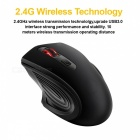 2.4GHz Ergonomic Wireless Optical Mouse 2000DPI Adjustable with USB 3.0 Receiver for Computer PC