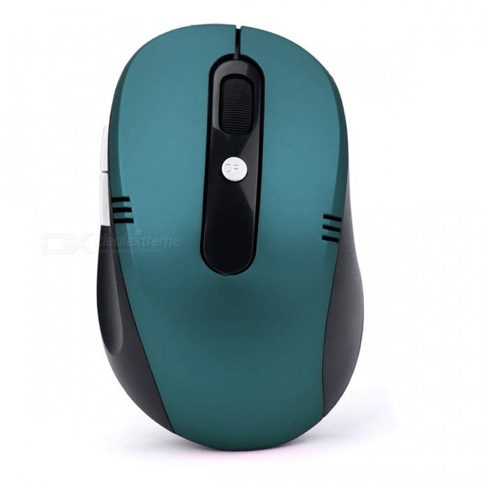 Realiable Luxury 2.4GHz Wireless Optical Gaming Mouse for Tablet PC Laptop ComputerWireless Mouse<br>Form  ColorNavyQuantity1 DX.PCM.Model.AttributeModel.UnitMaterialABSShade Of ColorCyanInterfaceUSB 3.0,USB 2.0Wireless or Wired2.4G WirelessOptical TypeLEDResolution2000DPIOperating Range10 DX.PCM.Model.AttributeModel.UnitPowered ByAAA BatteryBattery included or notNoBattery Number2Supports SystemWin xp,Win7 32,Win7 64,Win8 32,Win8 64,MAC OS X,Others,win10TypeErgonomicPacking List1 x 2.4GHz Wireless Portable Optical Mouse 1 x USB receiver<br>