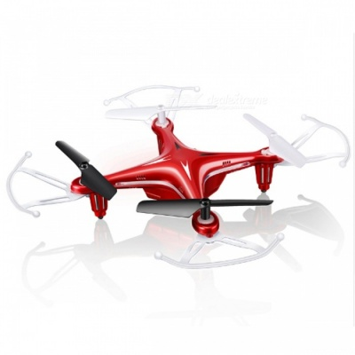 SYMA X13 4 Channel 6-Axis RC Helicopter Mini Quadcopter Drone with 3D Roll / Headless Mode - Red