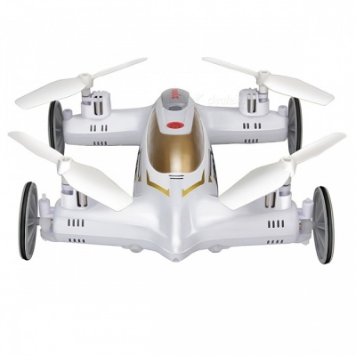 SYMA X9S 2.4G 4CH 6-Axis 3D Flip RC Helicoptero Drone with 3D Flip, Headless Mode - White