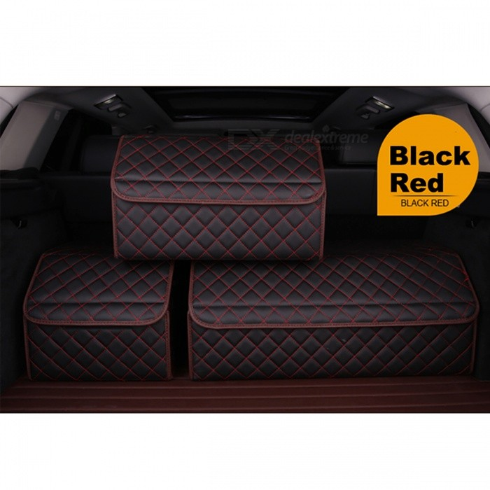 Universal Car Trunk Organizer, Stowing Tidying Auto Storage Box (M)