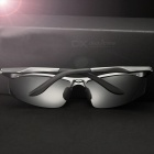 Polarized Men's Sports Sunglasses Driving Glasses Goggle Eyewear - Gray