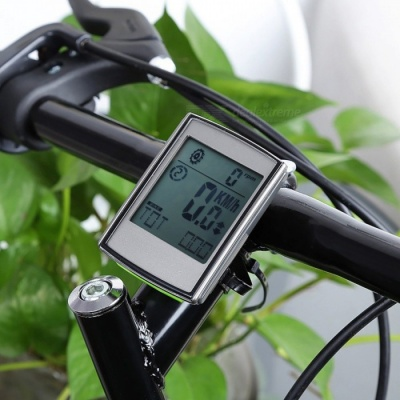 Waterproof Bike Odometer Speedometer with LCD Display