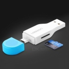 Ugreen Mini High Speed USB 2.0 Micro SD T-Flash TF Memory OTG Card Reader for Mobile Phone Tablet PC